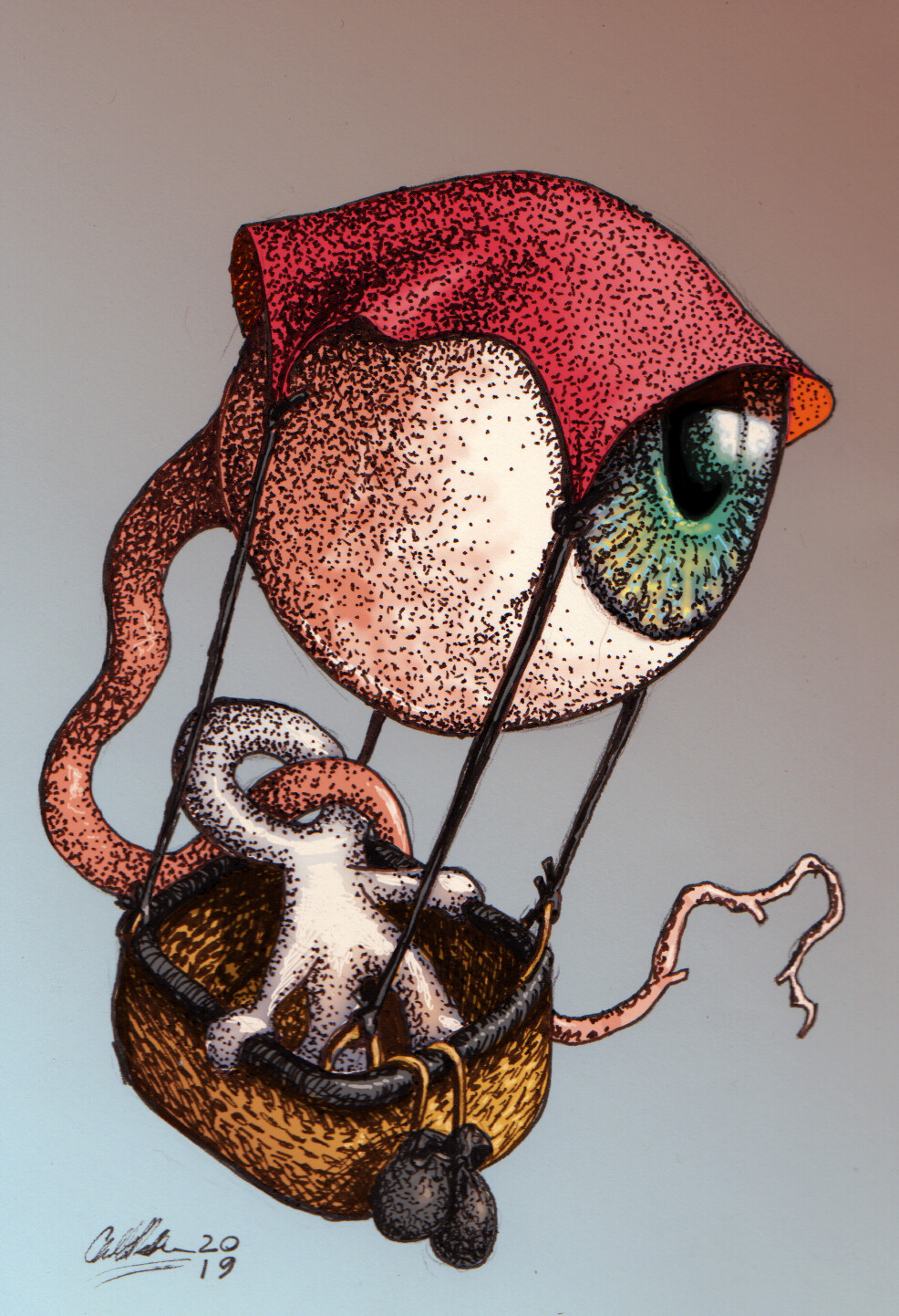 Anthony rosbottom eye balloon