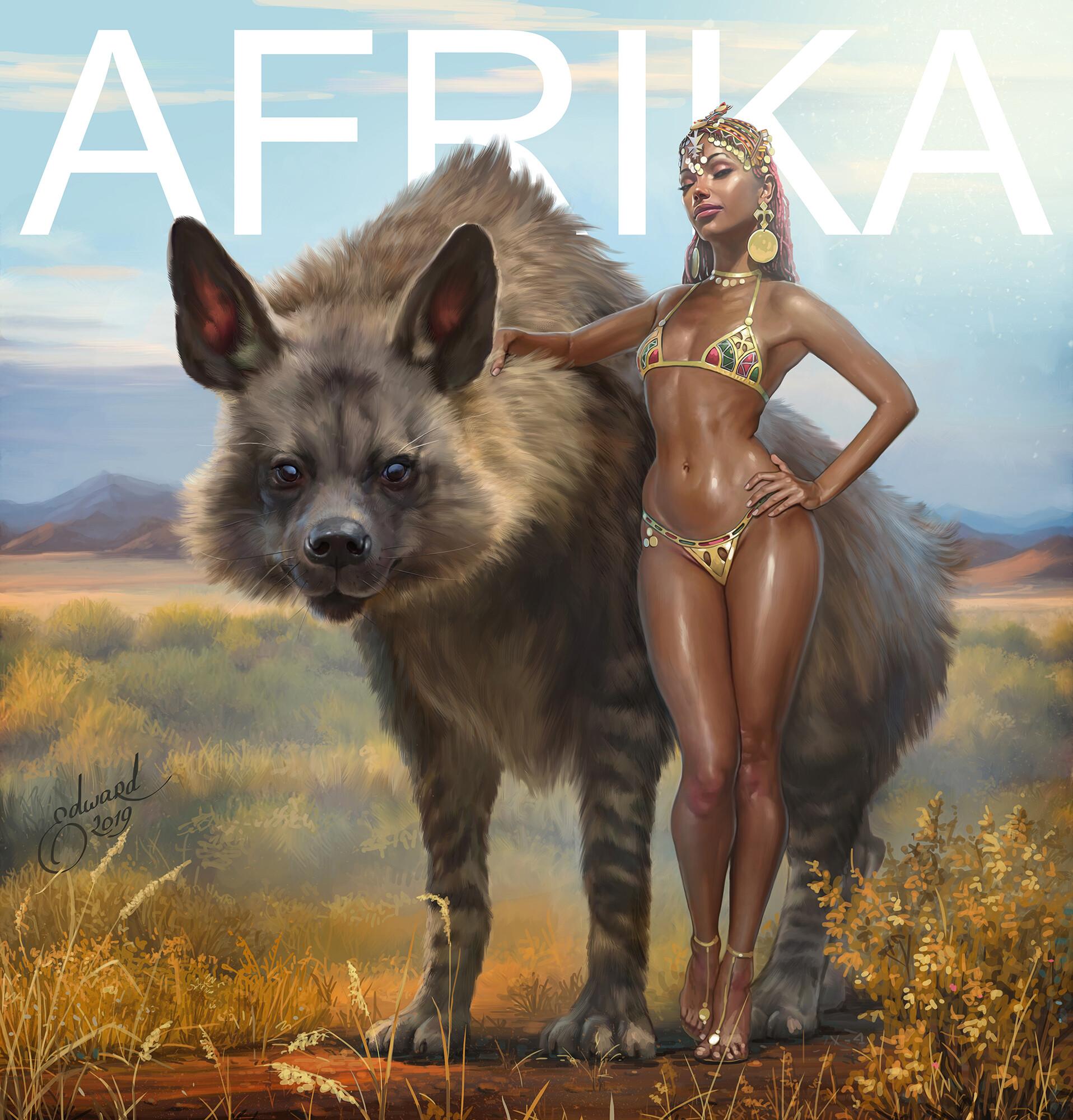 Edward halmurzaev afrika
