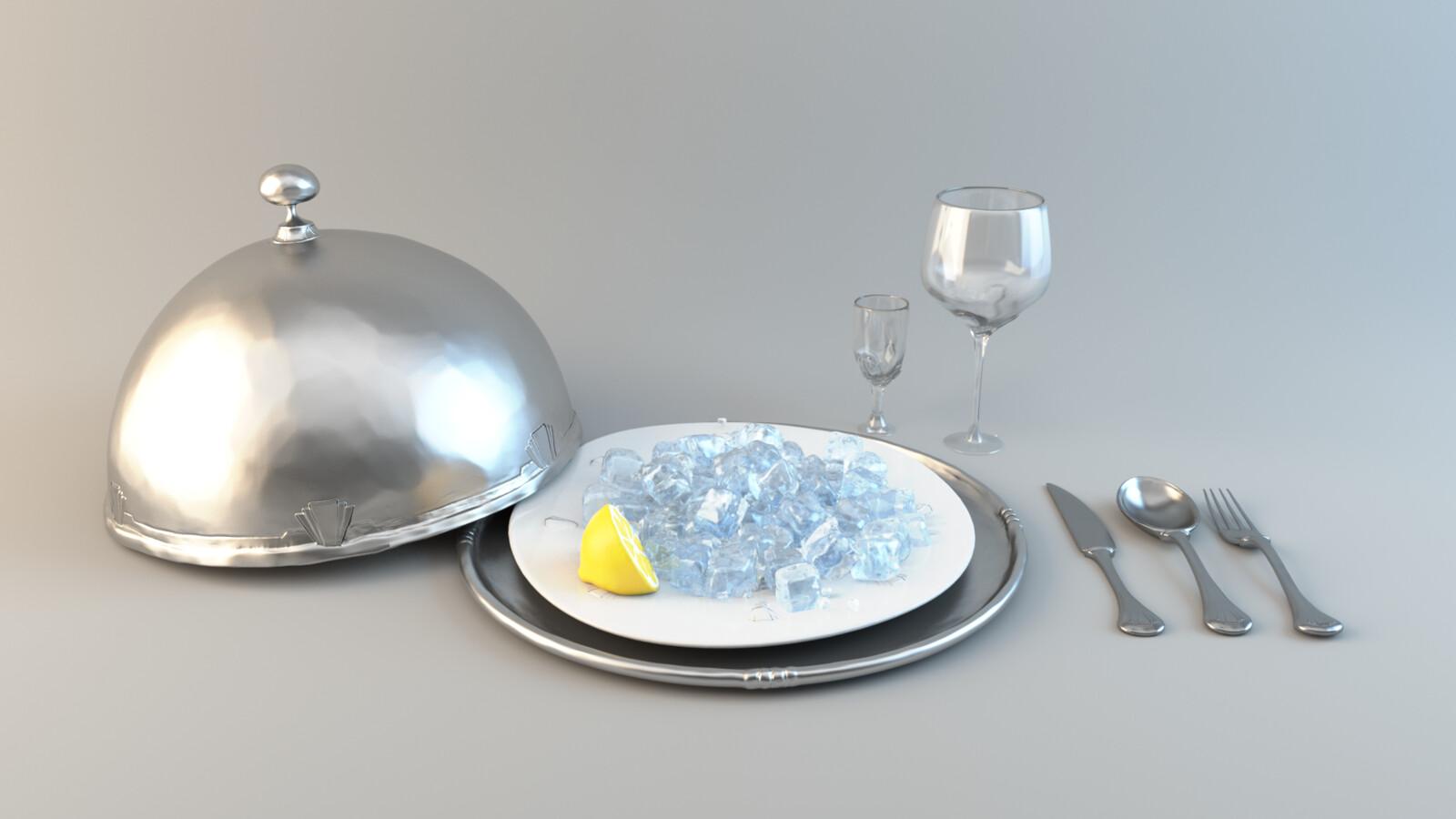 modeling & shading (design by Felix Zehender)