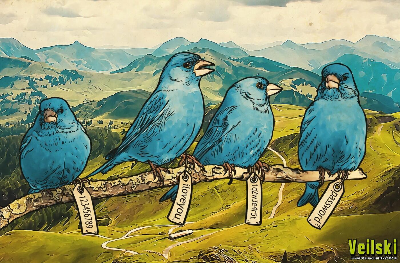 Twitty twitty birds