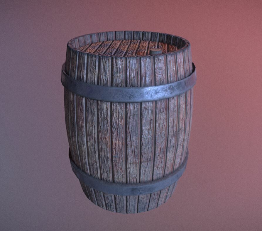 Medium beer/wine barrel