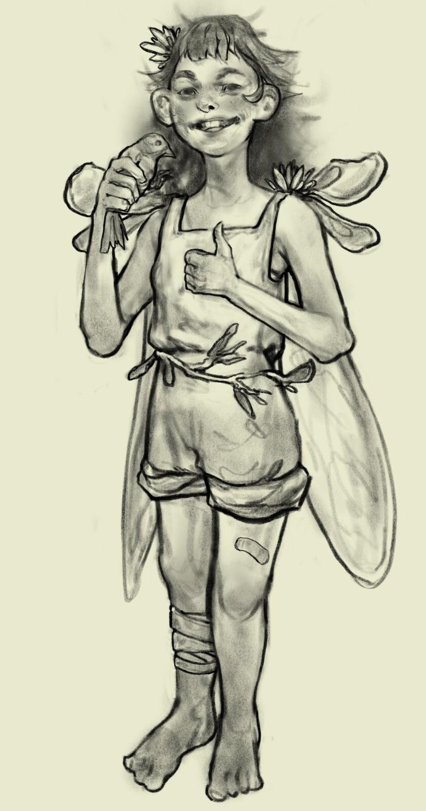 Fairy Sketch 2