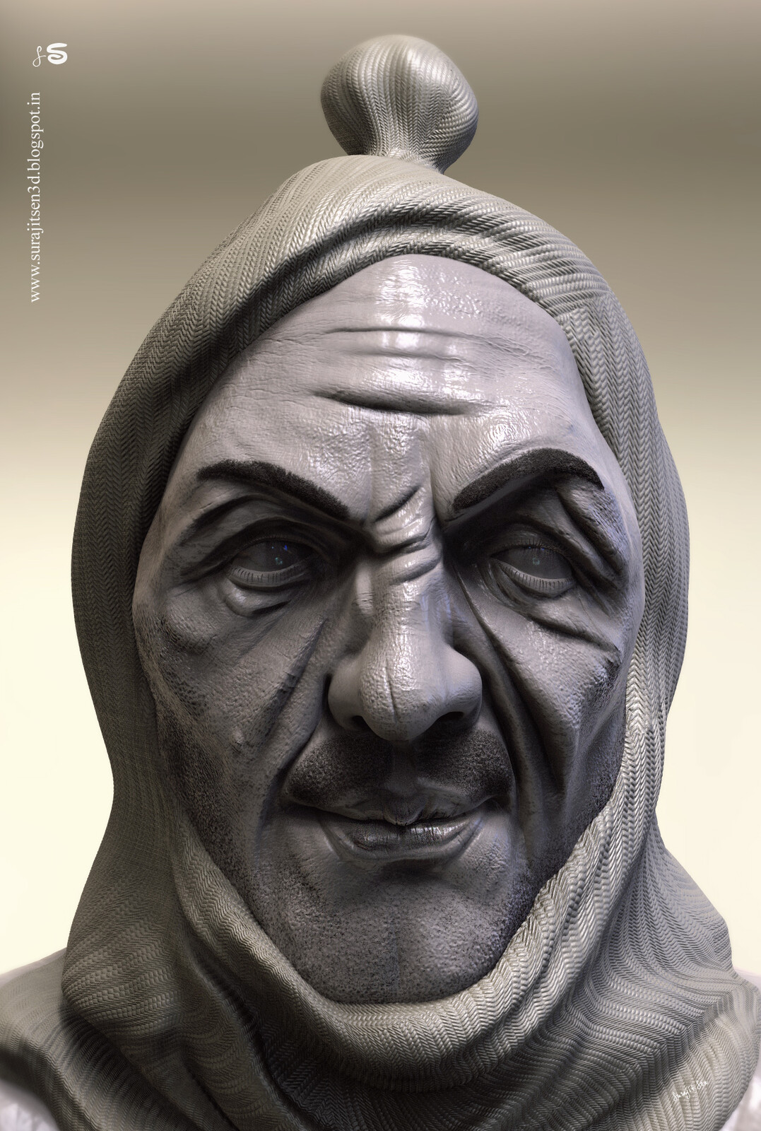 Wish to share my updated version of Conspirator_v1_sculpture.