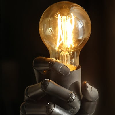 Sviatoslav gerasimchuk biot hand lamp