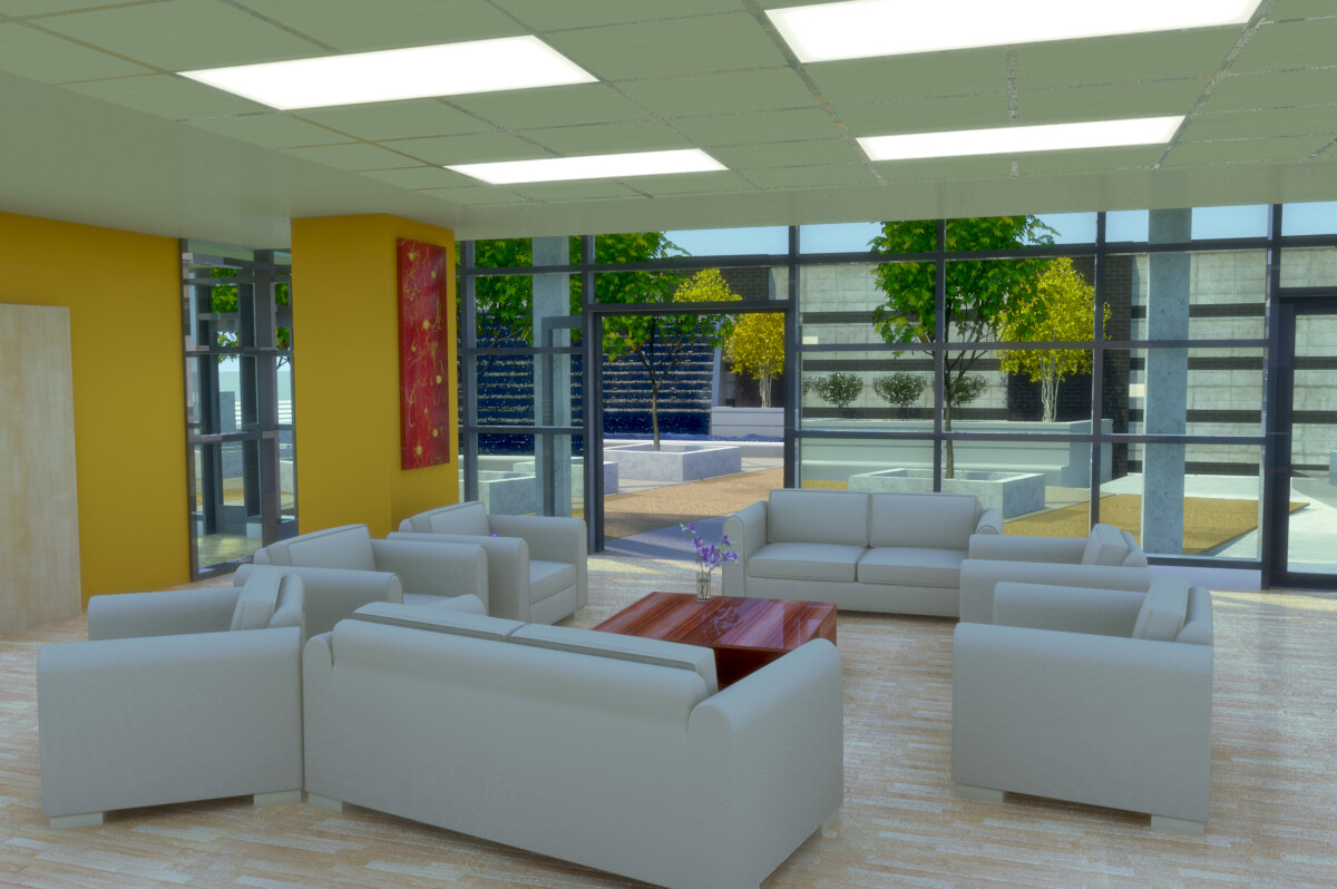 Old work - render project for 7th & H project.