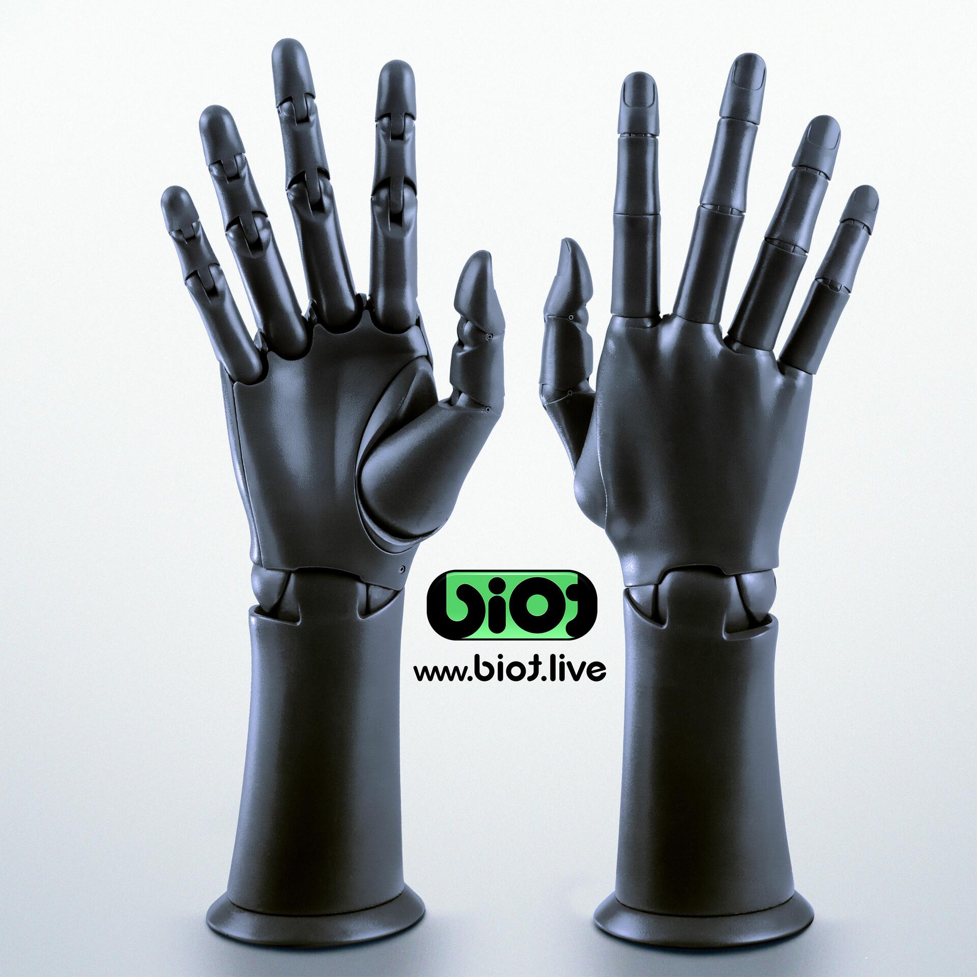 Sviatoslav gerasimchuk black biot twin hand