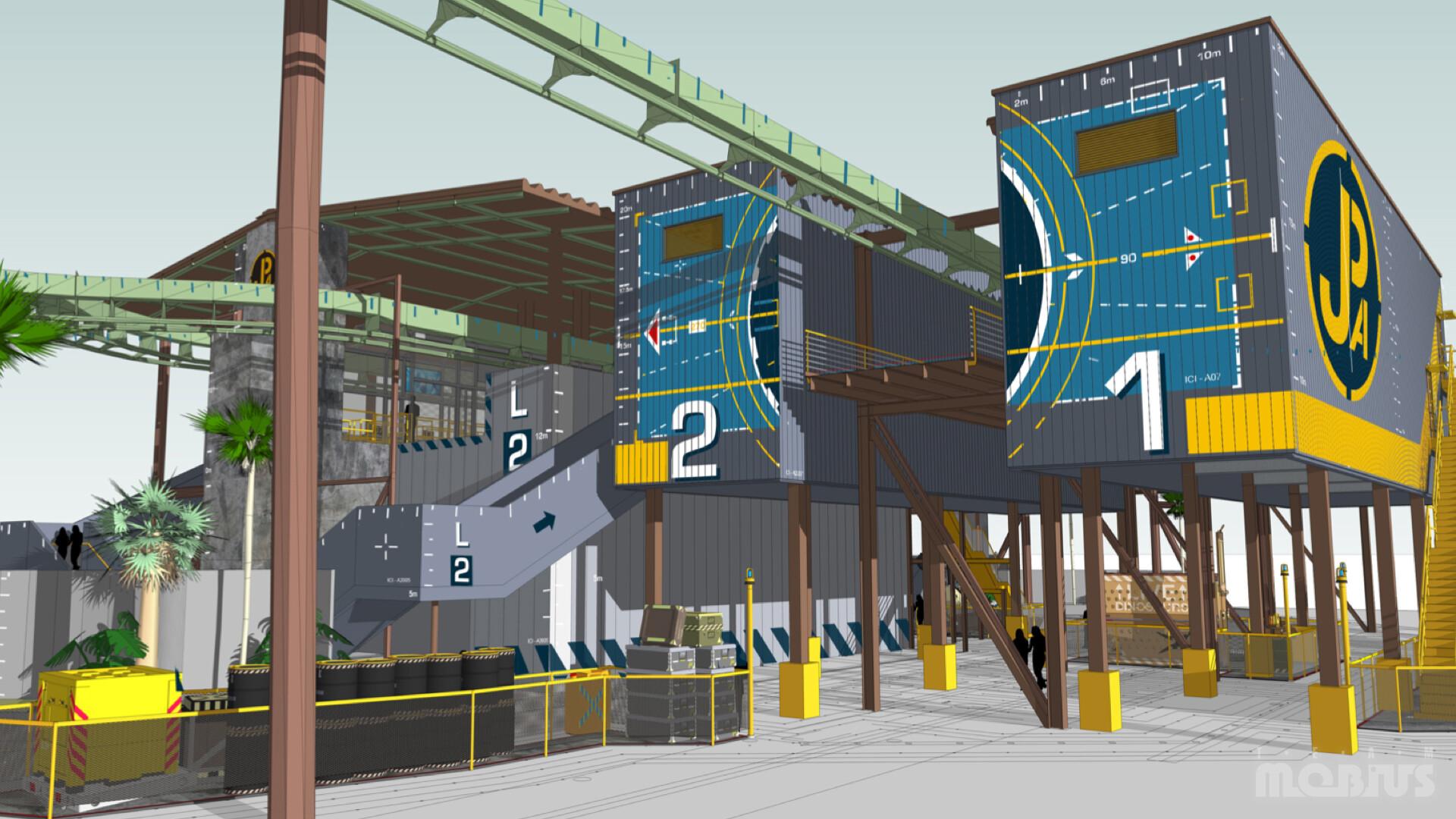 Load Station 3D Concept