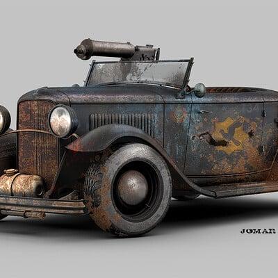 Jomar machado 174 battle roadster