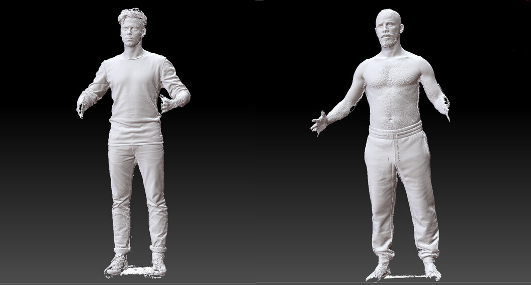 uncleaned bodyscans