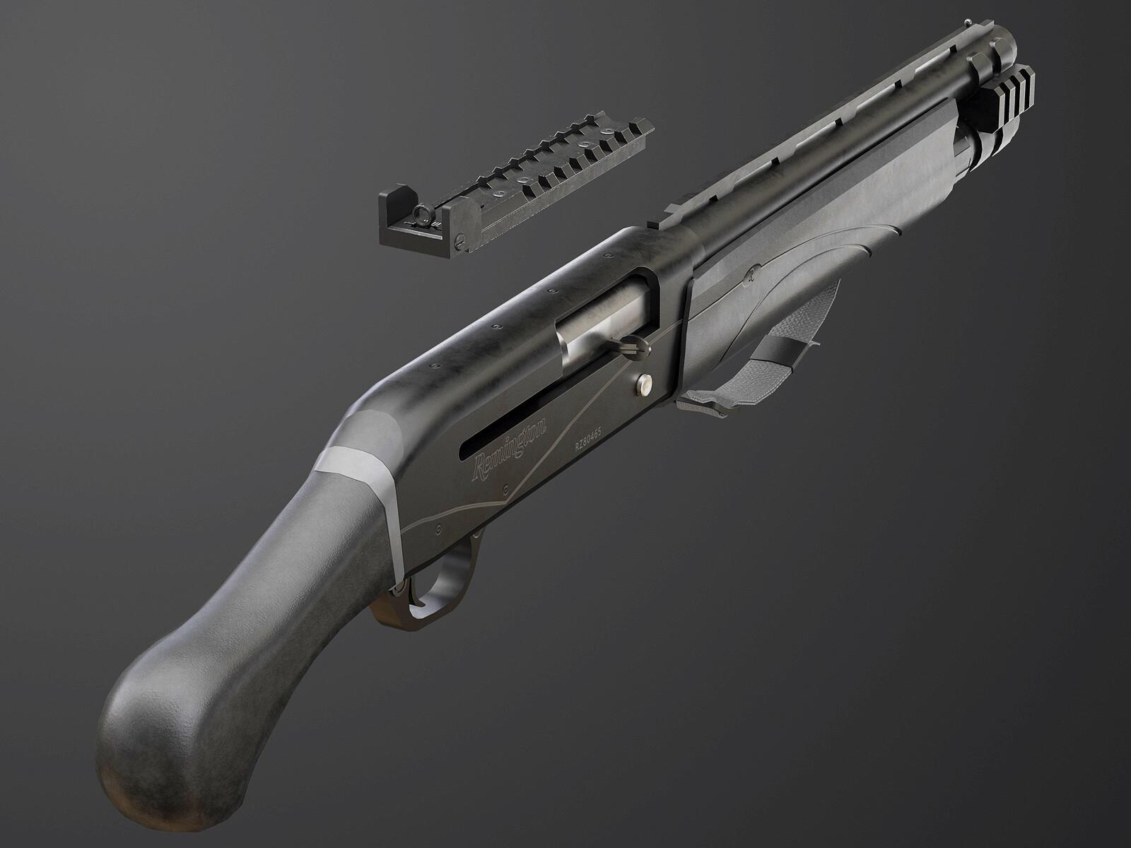 ArtStation - Remington V3 Tac-13, Gökhan Öz
