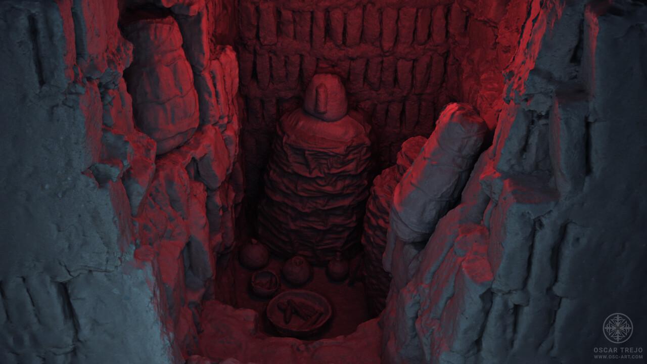 Oscar trejo sepultura rojo