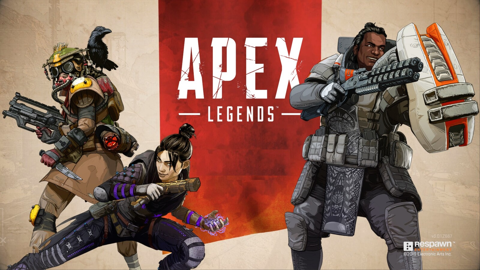 Launch Graphics in game for Apex Legends.