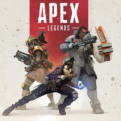 Autumn rain turkel apex legends boxart