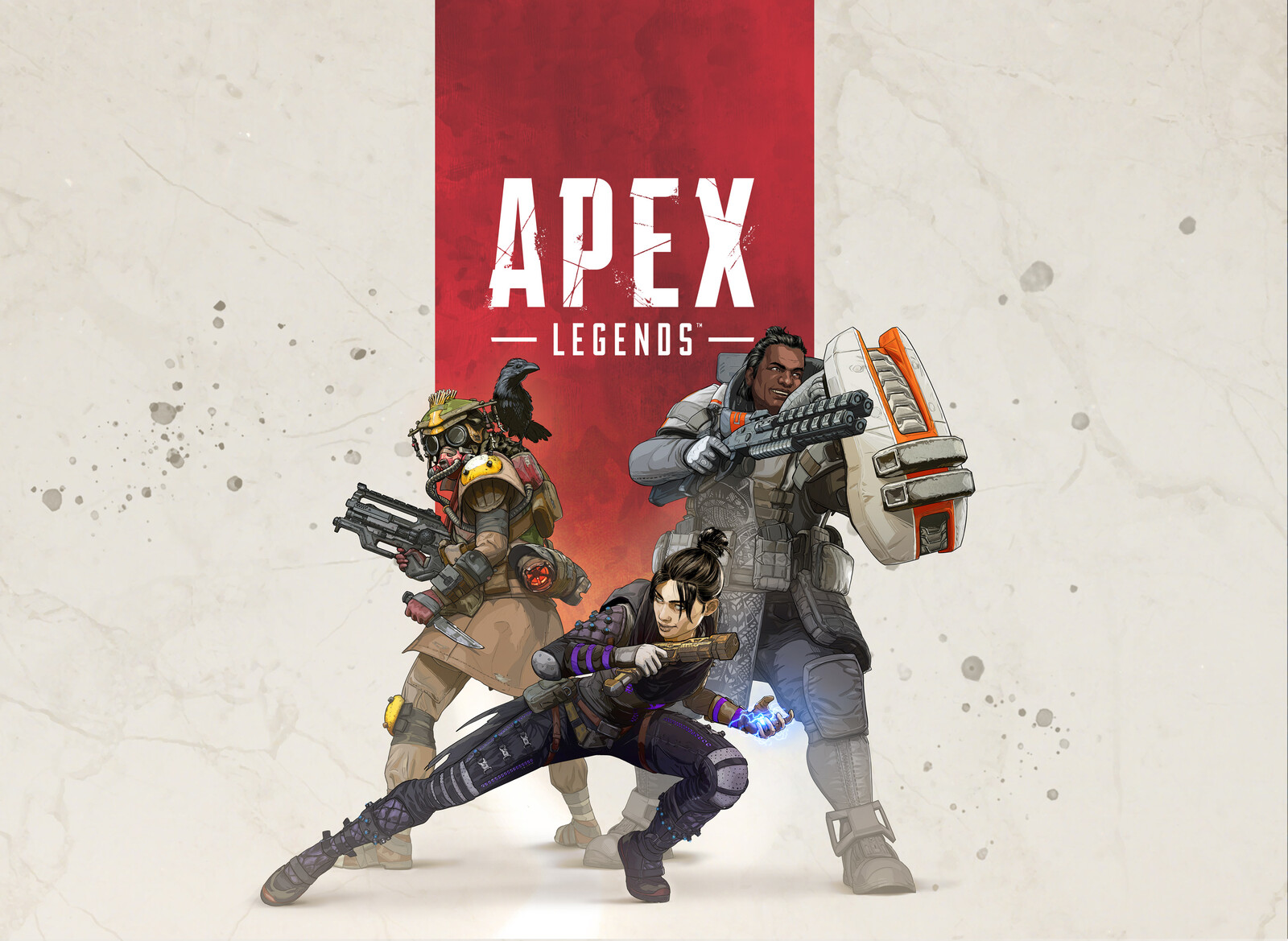 Apex Legends Character Lineup and box art