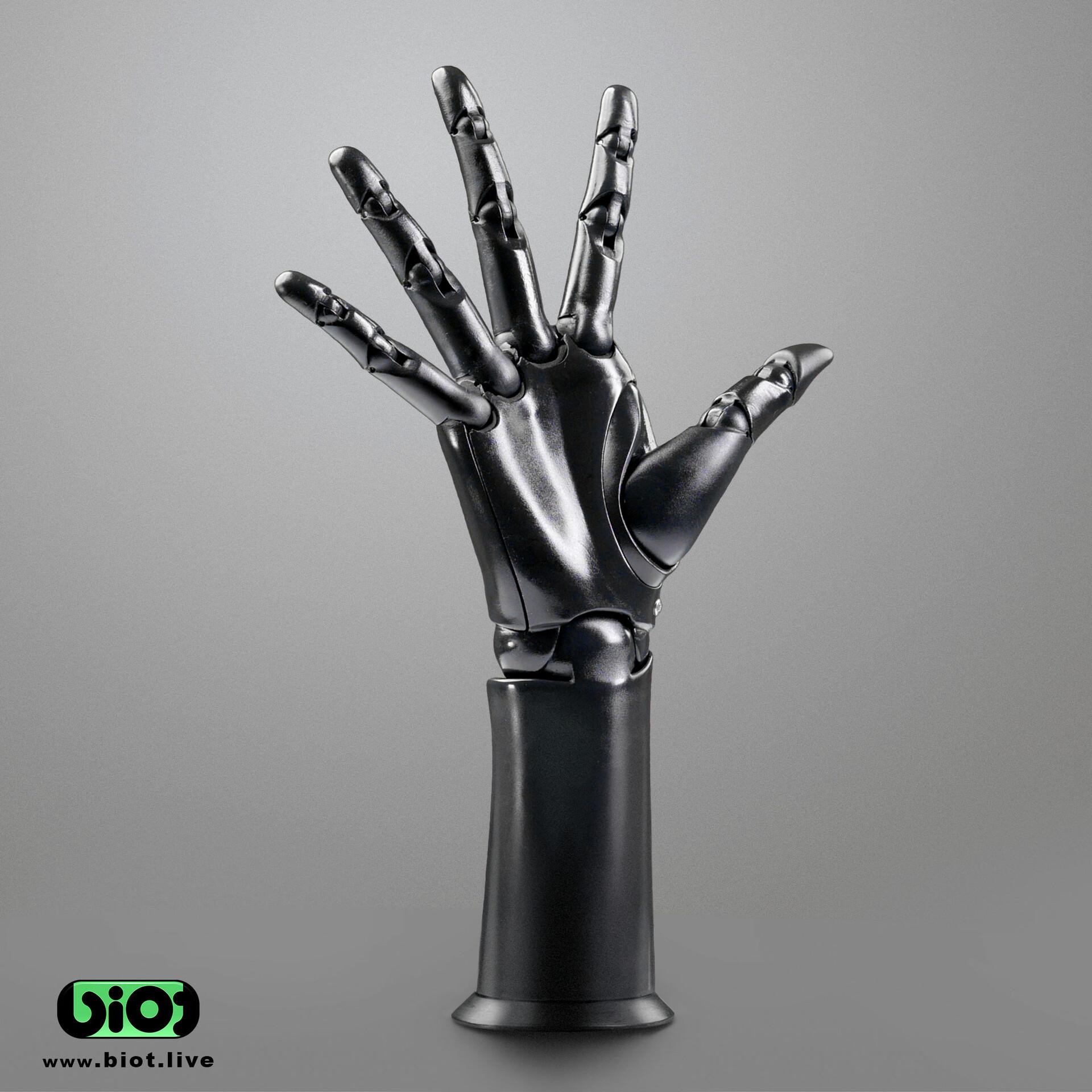Sviatoslav gerasimchuk biot bionic hand outstretched