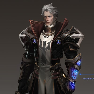 Fino feng game character design 0211