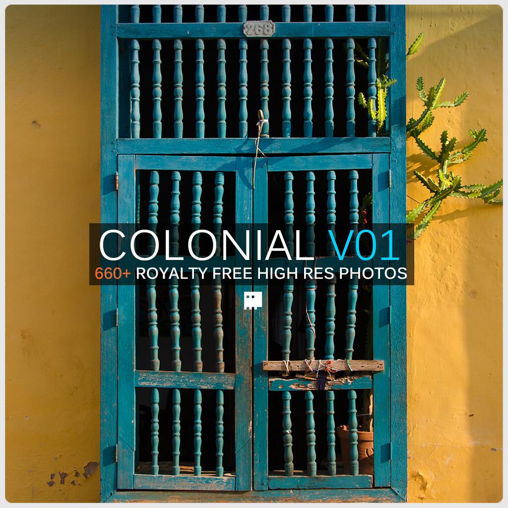 Daniel bayona colonial caribbean v01 squarecover01