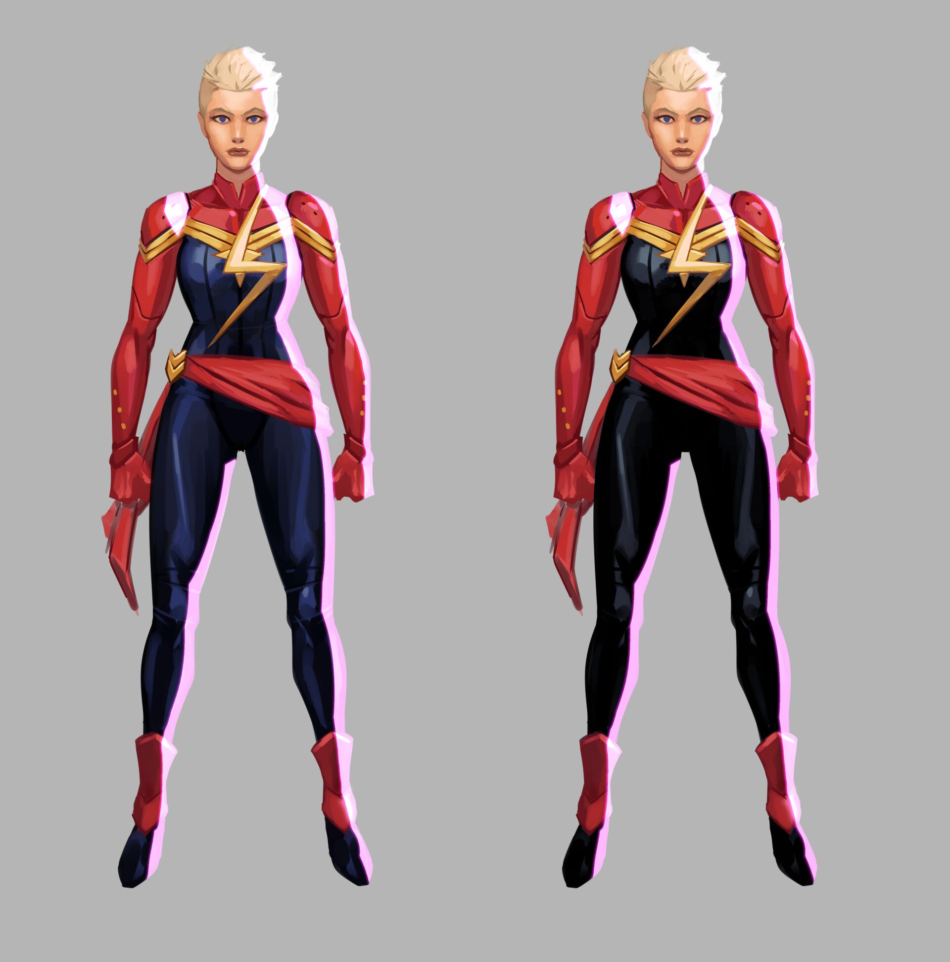 Artstation Captain Marvel 01 Christopher Wilson Marvel is the name of many fictional superheroes appearing in comic books published by marvel comics. captain marvel 01 christopher wilson