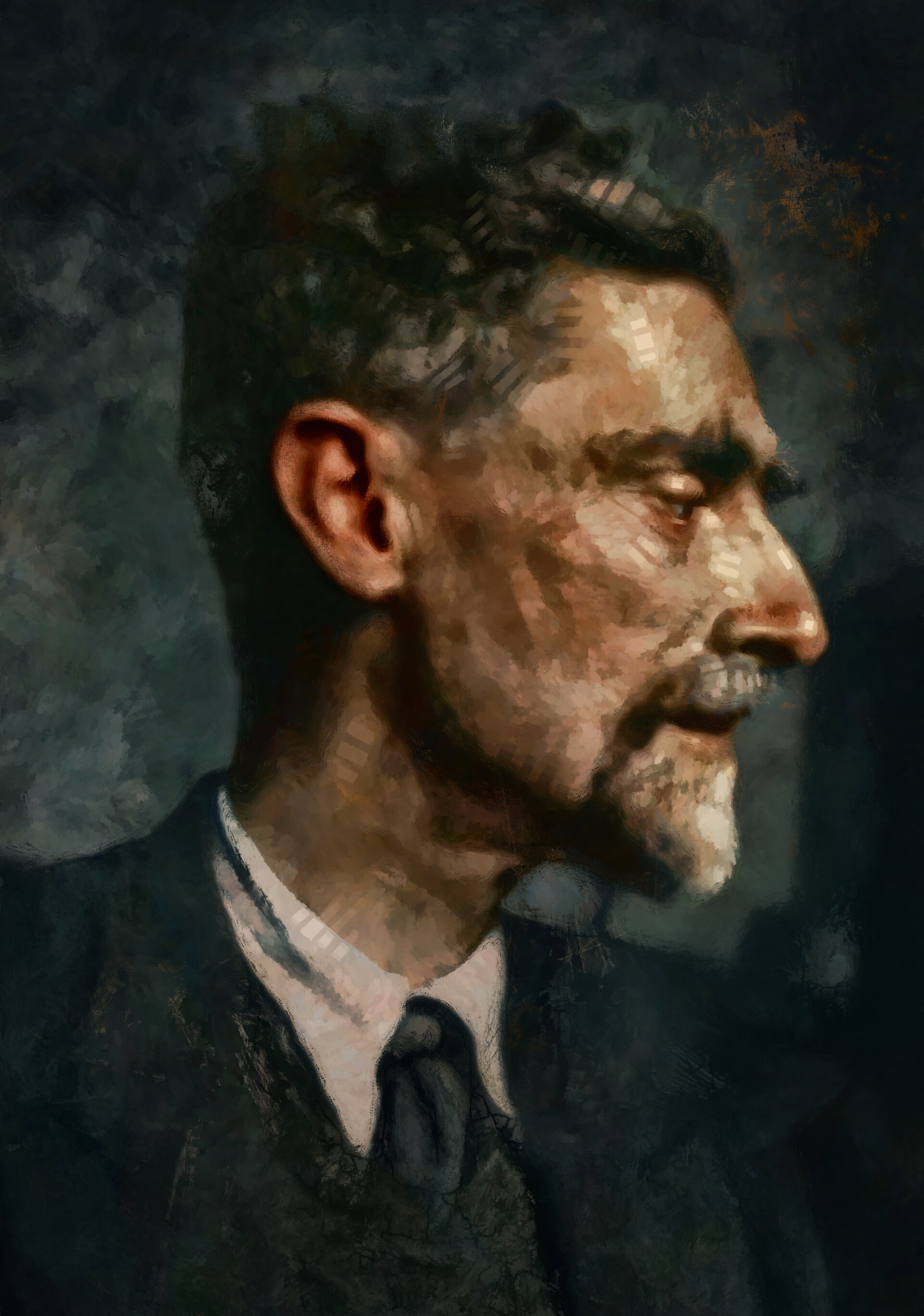 Portrait of M.C. Escher