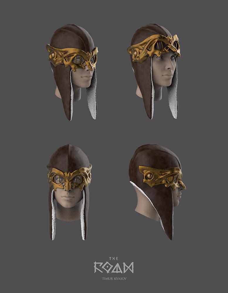 Timur kvasov sirin helmet sketches