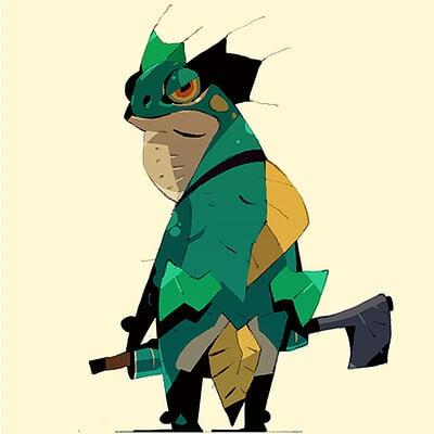 Satoshi matsuura 2019 02 07 frog fighter s