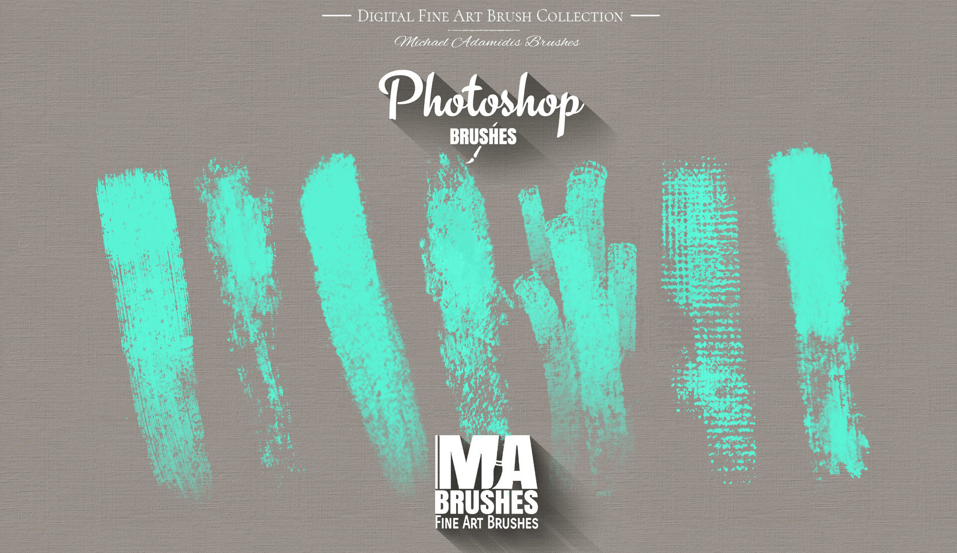 ArtStation - Photoshop Oil Brushes - Painting Texture Brush Pack, MA