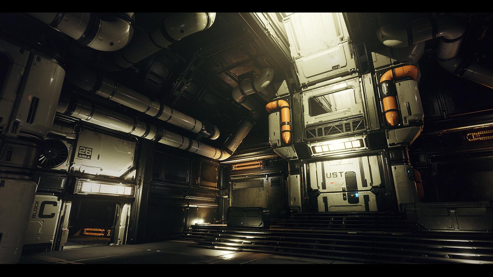 AREA 26 - UE4 Modular Sci-Fi Environment