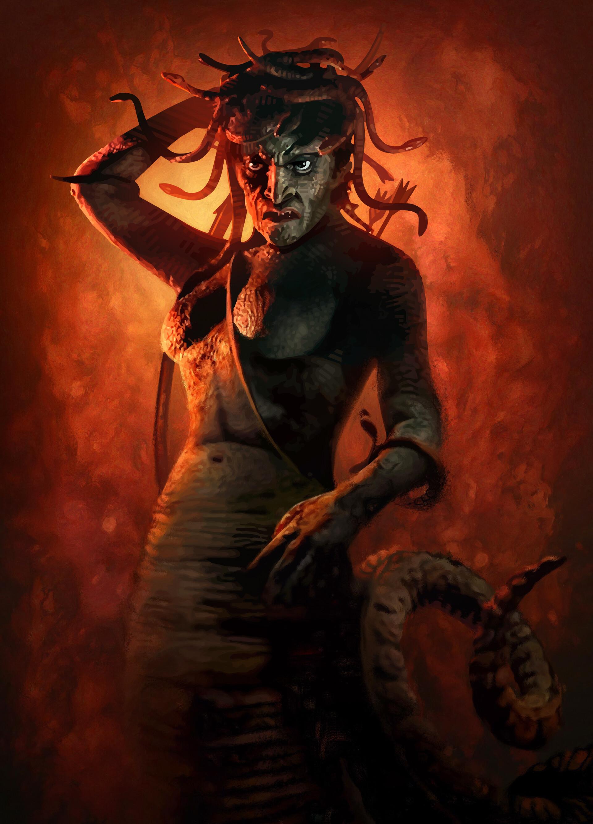 Harryhausen's Medusa