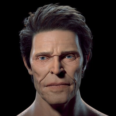 Likeness attempt - Willem Dafoe
