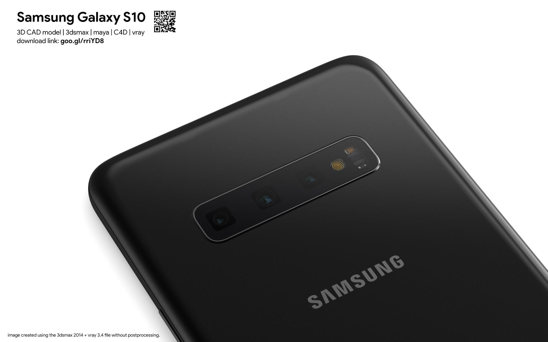 ArtStation - Samsung Galaxy S10 - 3D CAD models, Martin Hajek