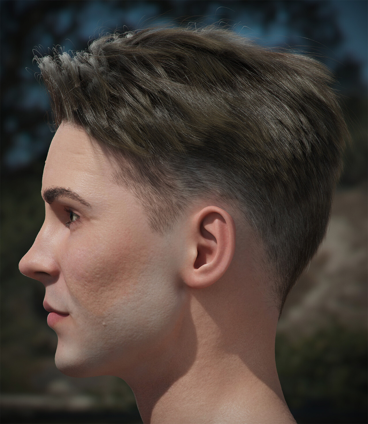 Andrew krivulya genry haircut 1 by akcharly cam02