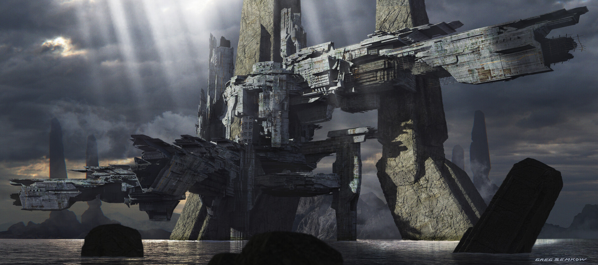 Greg semkow ruins settlement