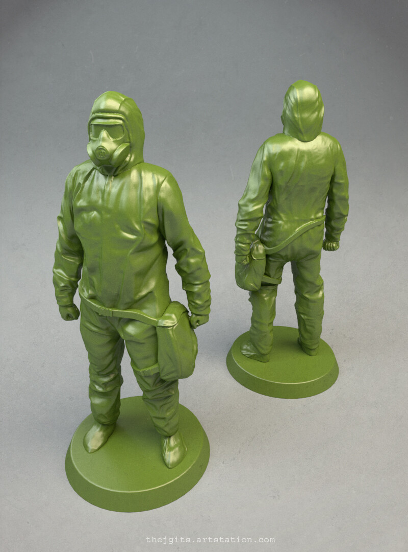 Injection Molded Board Game Figures