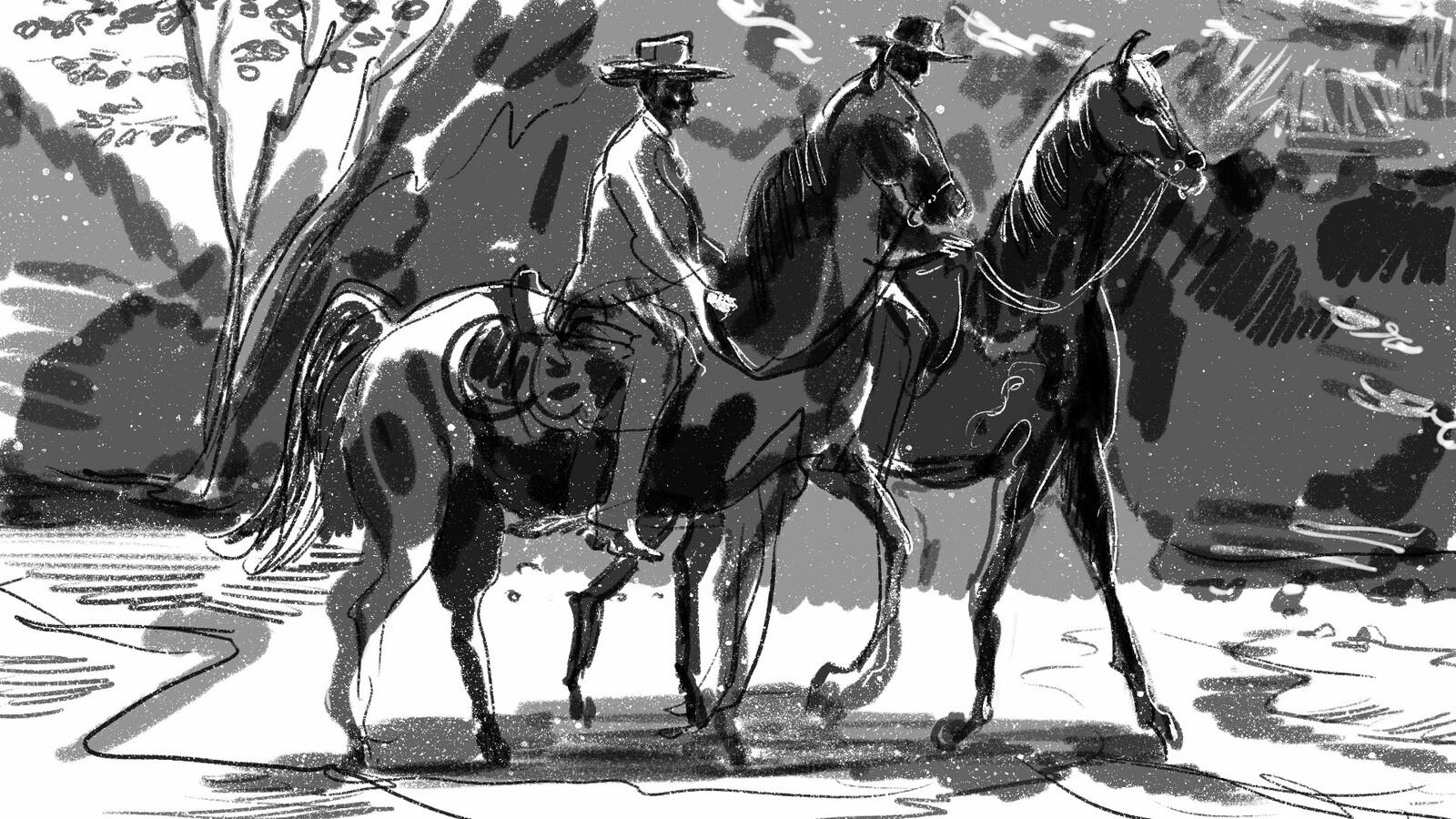frame #2 Western film