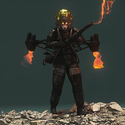 Ben nicholas bennicholas metalgear thefury 01