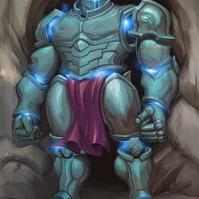 Ryan harasym enchanted armour