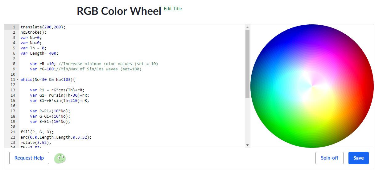 William Austin - RGB Color Wheel