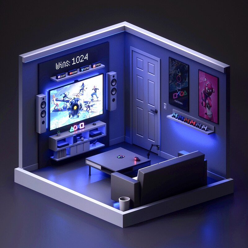 Playstation Stream Room