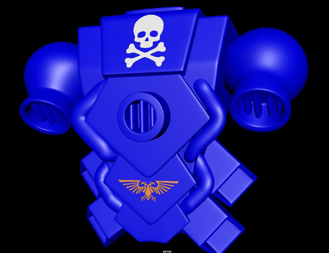 Joseph moniz space marine power pack