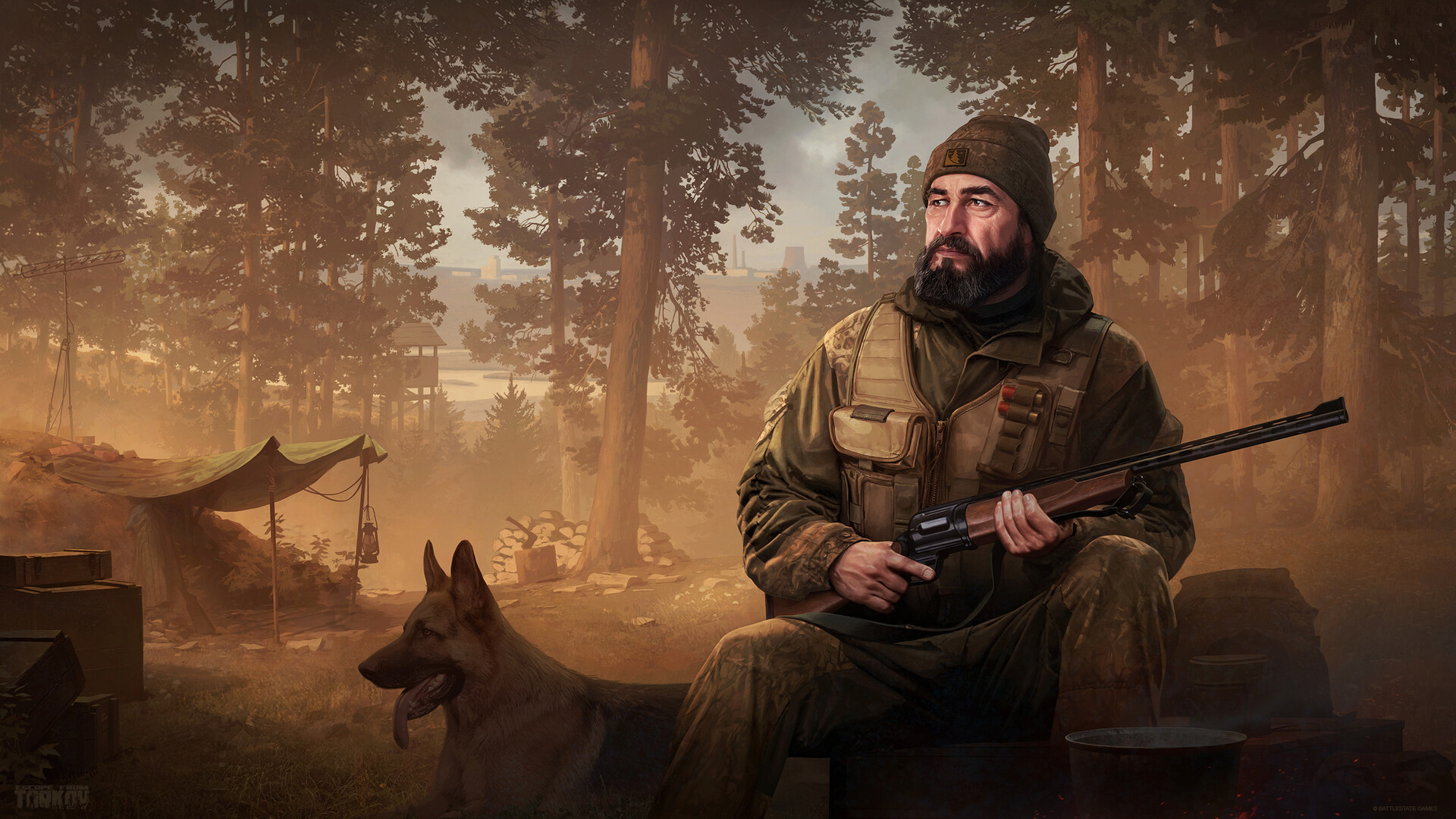 Artstation Escape From Tarkov Dealer Jaeger Ivan Vilmant