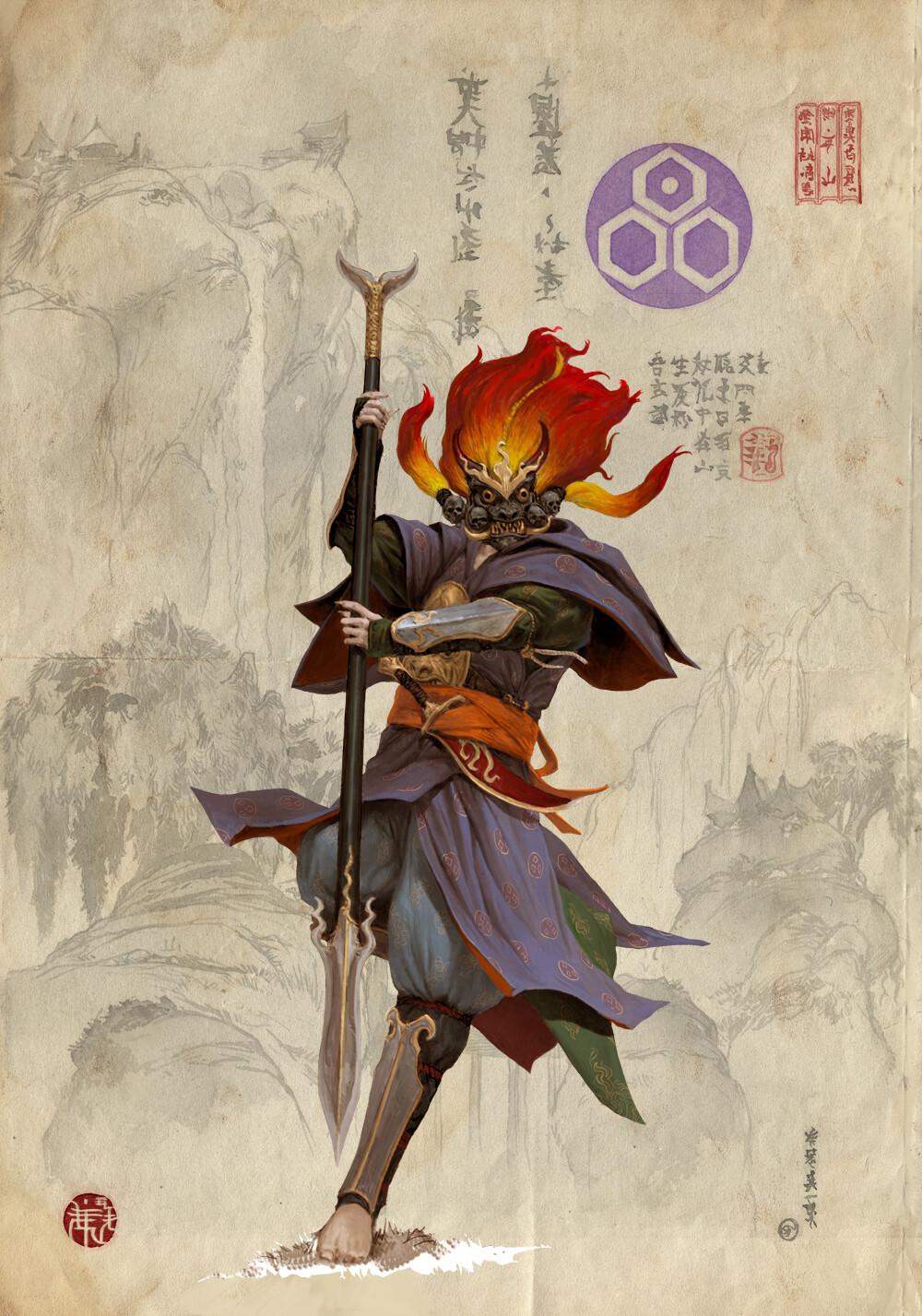 Adrian smith bushi 2 clan4 colour concept