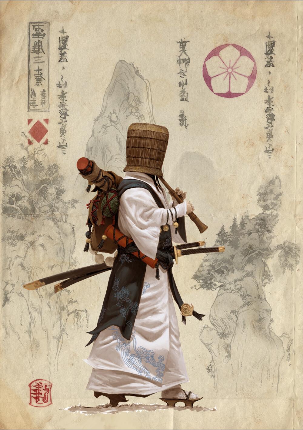 Adrian smith monk clan 1