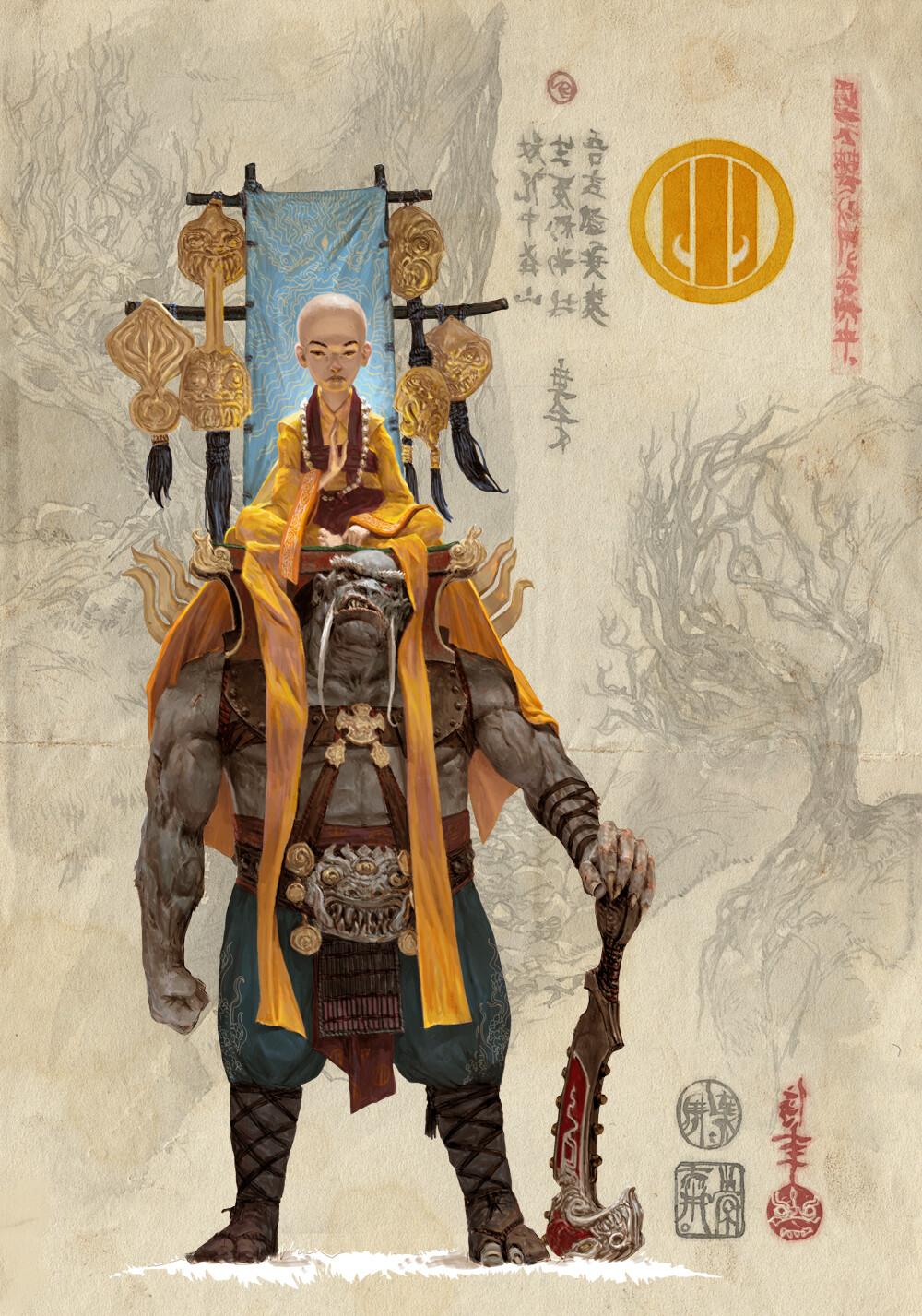 Adrian smith monk clan6