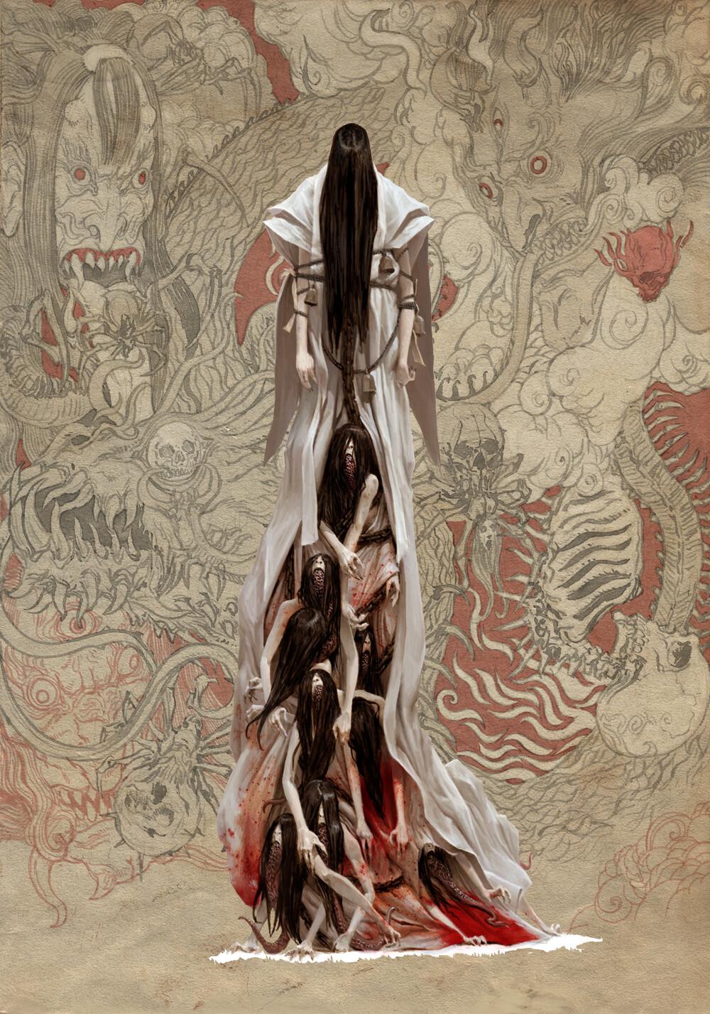 Adrian smith monster demon 3