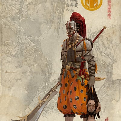 Adrian smith bushi 2 clan6 colour concept