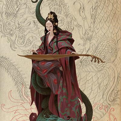 Adrian smith seven gods 2 benten