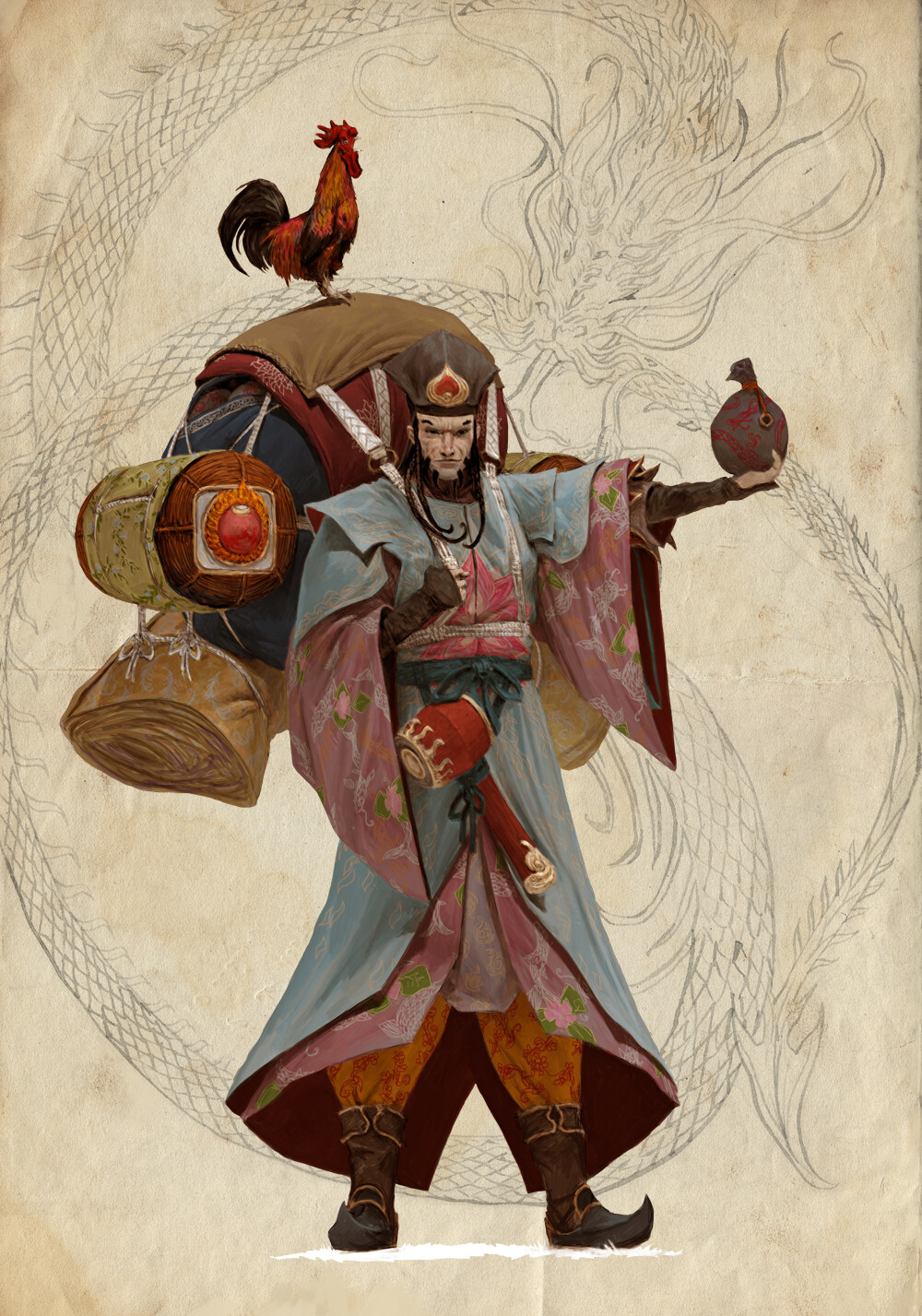 Adrian smith seven gods daikokuten