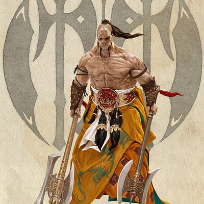 Adrian smith dynasty dian wei