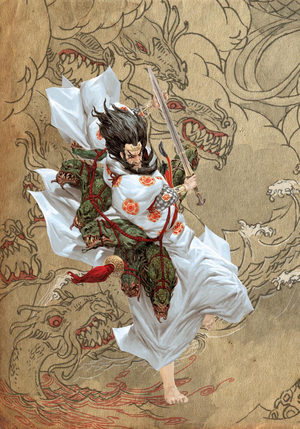 Adrian smith japanese gods suzanoo