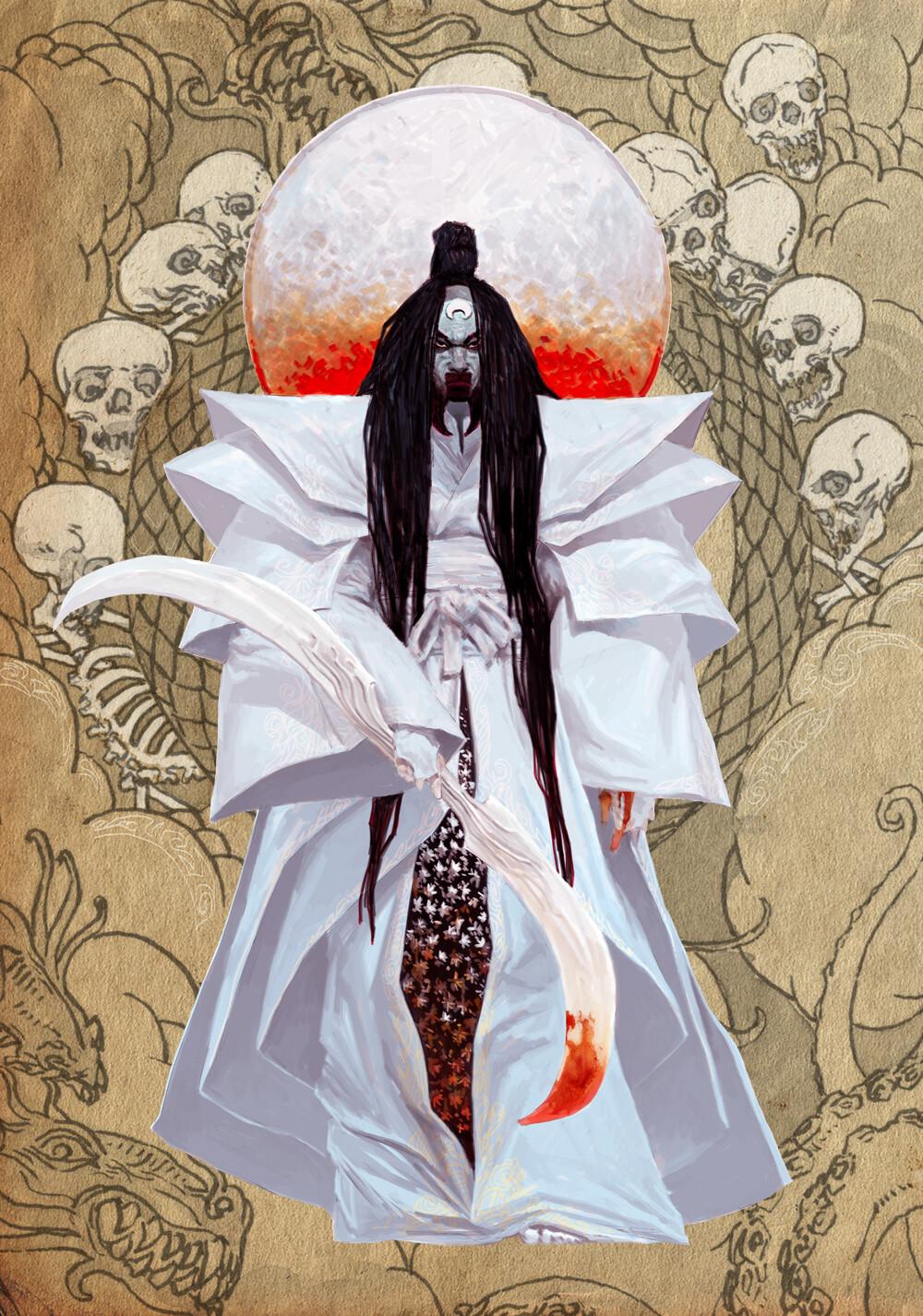 Adrian smith japanese gods tsukuyomi